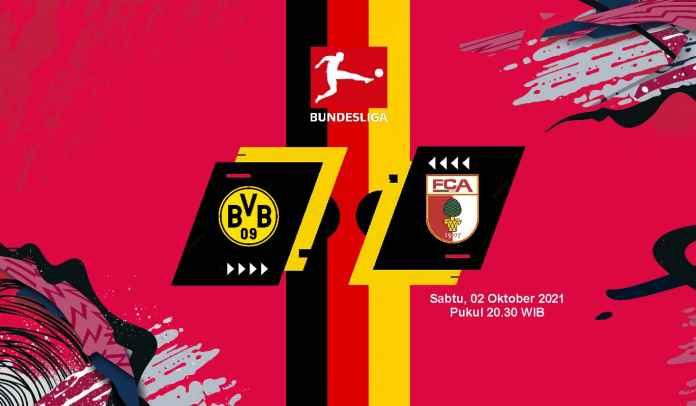 Prediksi Dortmund vs Augsburg, Pekan Ketujuh Liga Jerman, Sabtu 2 Oktober 2021