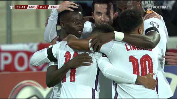 Hasil Inggris Tadi Malam, Bukayo Saka Tebus Kesalahannya Saat Final Piala Eropa