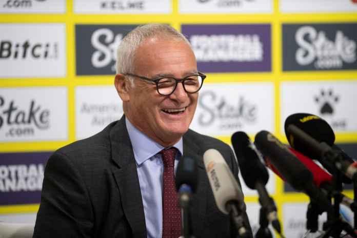 Claudio Ranieri Iming-imingi Pemain Watford Jelang Hadapi Liverpool