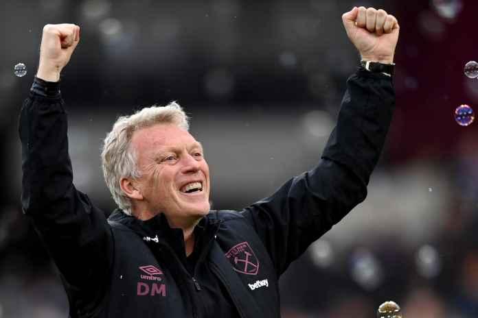 David Moyes Beberkan Targetnya Usai West Ham Gilas Rapid Wien