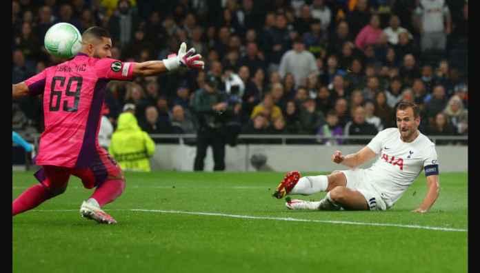 Hasil Spurs Tadi Malam Diwarnai Amukan 3 Gol Harry Kane di Kompetisi Eropa