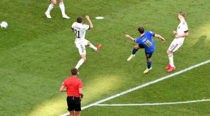 Pemain Inter Cetak Gol Bagi Italia Tadi Malam Dalam Waktu 59 Detik