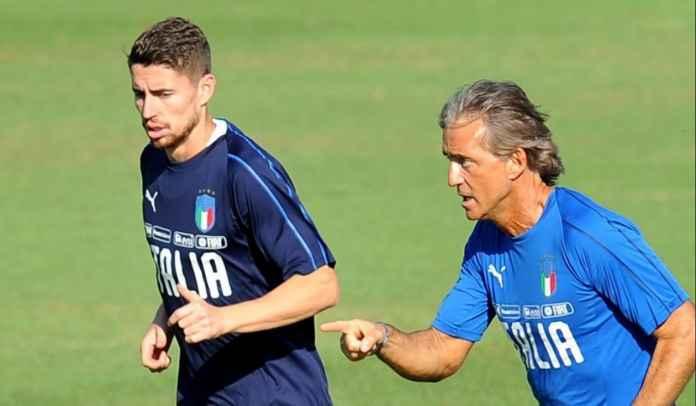 Pelatih Italia Roberto Mancini Sebut Jorginho Harus Menangkan Ballon d'Or