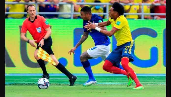 Usai 9 Kemenangan, Brasil Catatkan Hasil Imbang Pertamanya di Kolombia