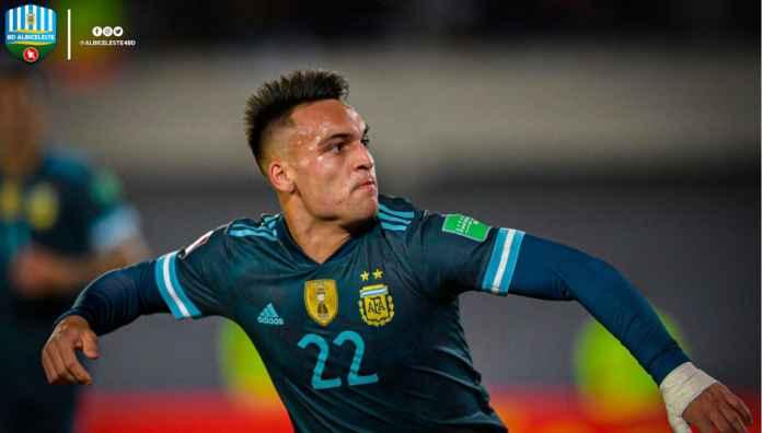 Hasil Argentina vs Peru, Lautaro Martinez Gol Keenamnya Bagi La Albiceleste