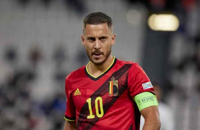 Eden Hazard Cedera Lagi? Begini Komentar Pelatih Timnas Belgia