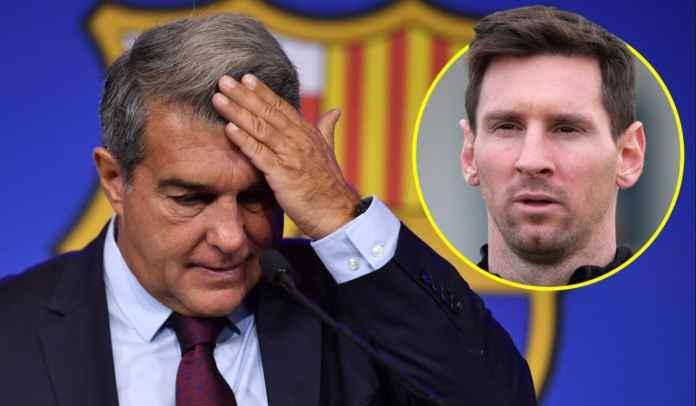 Joan Laporta : Saya Berharap Lionel Messi Mau Bermain Secara Gratis di Barcelona