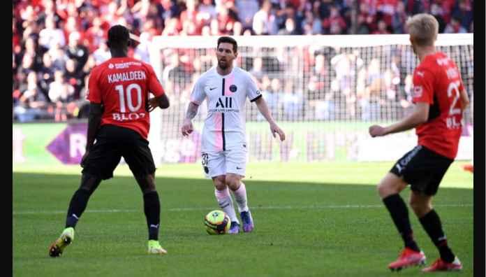 Skuad PSG Bernilai 11,7 Trilyun, Termasuk Trio Messi Neymar Mbappe, Kalah Dua Gol di Rennes