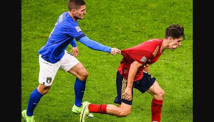 Hasil Italia Tadi Malam, Rangkaian 37 Laga Tak Terkalahkan Azzurri Diakhiri oleh Spanyol