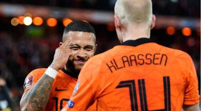 Hasil Belanda Tadi Malam: Oranje Menang 6 Gol, Memphis 2 Gol dan 2 Assist