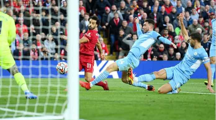 Hasil Liverpool vs Man City, 4 Gol Susul Menyusul Dalam Rentang 21 Menit!
