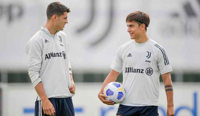 Jelang Juventus vs Roma : Paulo Dybala Siap Comeback, Alvaro Morata Akhir Bulan