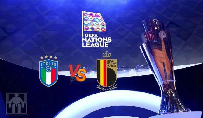 Prediksi Italia vs Belgia, Semifinal UEFA Nations League, Minggu 10 Oktober 2021