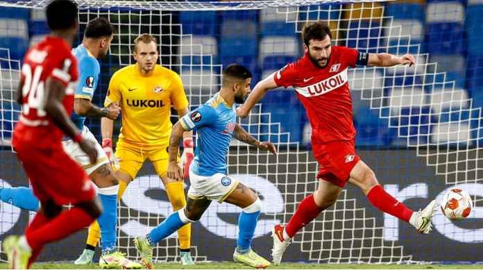 Hasil Napoli Tadi Malam: Gol 11 Detik Elif Elmas Dinodai Kartu Merah Mario Rui, Hilang 3 Poin