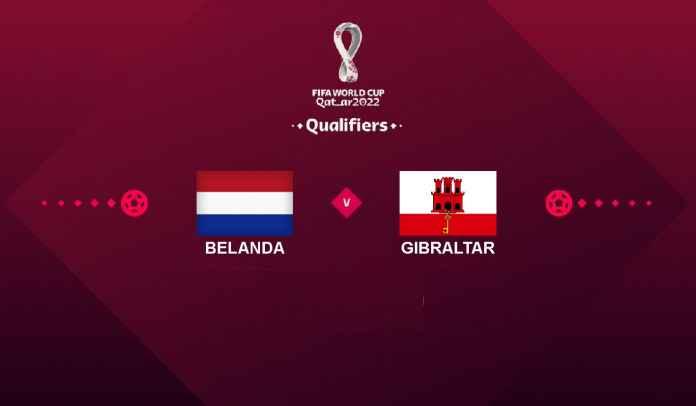 Prediksi Belanda vs Gibraltar, Kualifikasi Piala Dunia 2022, Selasa 12 Oktober 2021