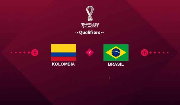 Prediksi Kolombia vs Brasil, Kualifikasi Piala Dunia 2022, Senin 11 Oktober 2021