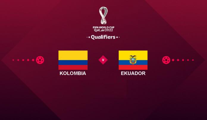 Prediksi Kolombia vs Ekuador, Kualifikasi Piala Dunia 2022, Jumat 15 Oktober 2021