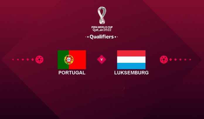 Prediksi Portugal vs Luksemburg, Kualifikasi Piala Dunia 2022, Rabu 13 Oktober 2021