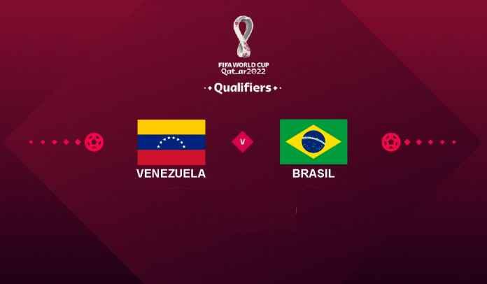 Prediksi Venezuela vs Brasil, Kualifikasi Piala Dunia FIFA 2022, Jumat 8 Oktober 2021
