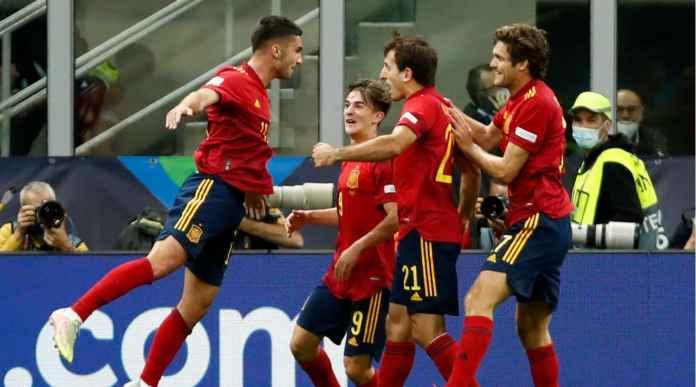 Hasil Italia vs Spanyol, La Furia Roja Mengamuk dan Puaskan Balas Dendam
