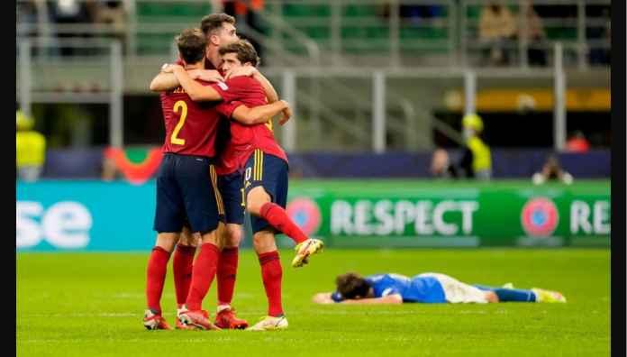 Pencetak Gol Spanyol dan 5 Pemain La Roja Lainnya Belum Lahir Terakhir Kali Italia Kalah Kandang