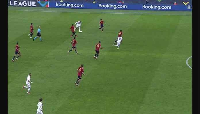 Penjelasan Mengapa Wasit Anggap Gol Kylian Mbappe ke Gawang Spanyol Sah, Tadi Malam
