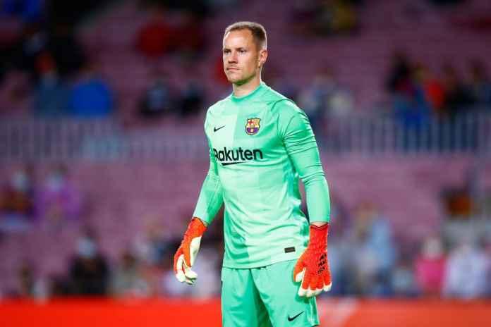 Ter Stegen Beri Janji Manis ke Fans Setelah Barcelona Raih Hasil Negatif