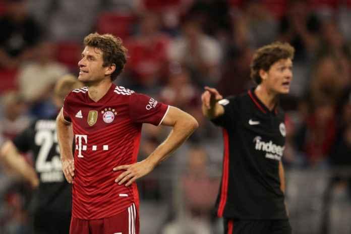 Thomas Muller Marah-marah Setelah Die Roten Dikalahkan Frankfurt