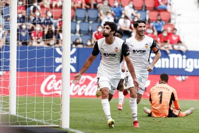 Winger Valencia Dipantau Serius Dua Klub Besar Inggris