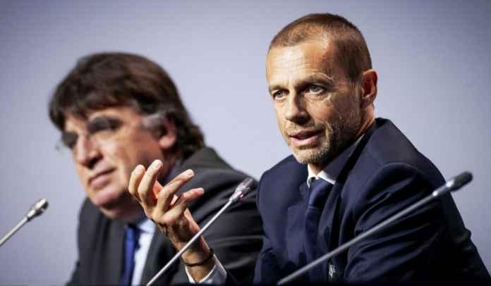 Presiden UEFA Aleksander Ceferin Sanjung Gairah Sepak Bola di Italia