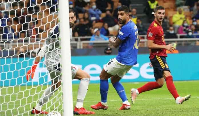 Emerson Palmieri Legawa Terima Kekalahan, Beri Ucapan Selamat Pada Spanyol