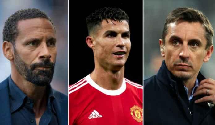 Bela Aksi Tantrum Cristiano Ronaldo, Rio Ferdinand Beri Gary Neville Tamparan Keras