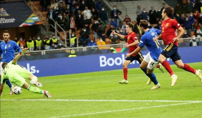 Lorenzo Pellegrini Klaim Spanyol Tidak Lebih Unggul Ketimbang Italia