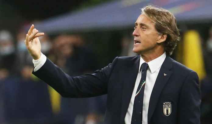 Roberto Mancini Sesalkan Kartu Merah Leonardo Bonucci Usai Dikalahkan Spanyol