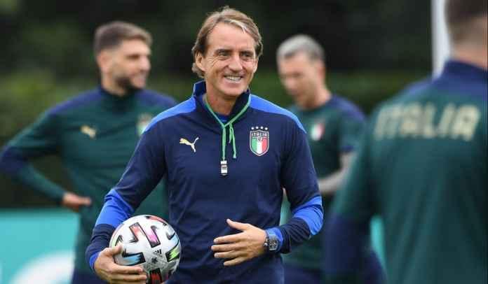 Roberto Mancini Umumkan Skuad Italia Untuk Semifinal Nations League vs Spanyol